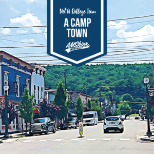 Hawley, PA - A Camp Town