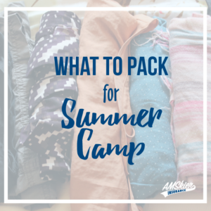 Summer Camp Pack List